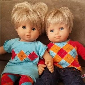 Pleasant Co blonde/blu Bitty Babies Retired 2002